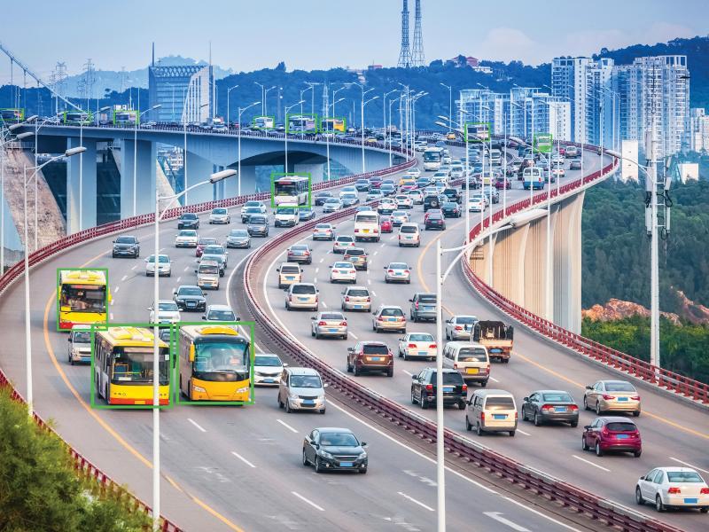 camera Axis - giao thông thành phố