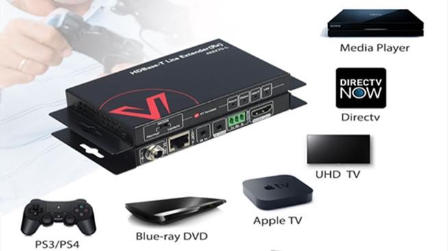 4KEX70L-HDMI bộ kéo dài tín hiệu