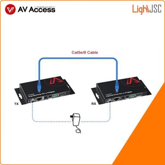 4KEX70L Bộ chuyển đổi Extender chuẩn HDMI