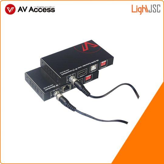 4KIP100-KVM kéo dài tín hiệu HDMI