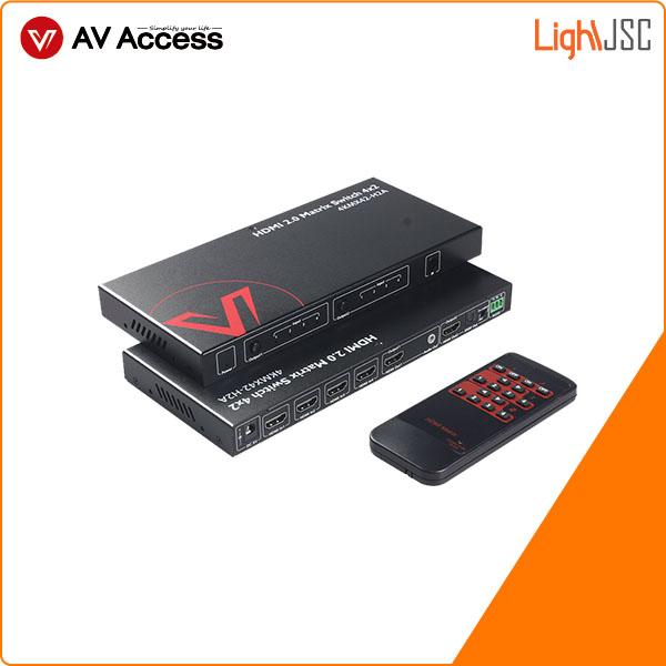 4KMX42-H2A-Matrix-Switch-4K-4x2-HDMI