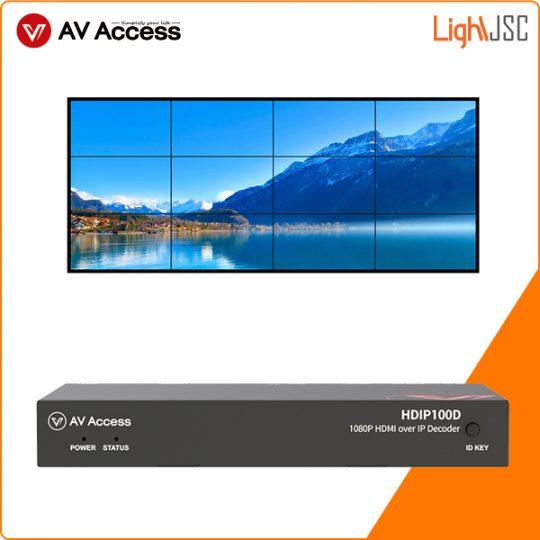 HDIP100D bộ kéo dài tín hiệu HDMI