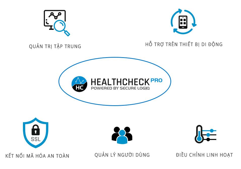 tính năng của health check pro