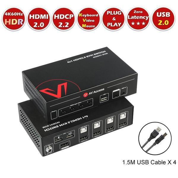 AV Access KVM Switch